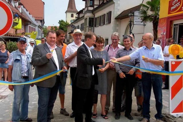 Sanierung abgeschlossen: Ortsdurchfahrt von Bad Krozingen ist wieder frei