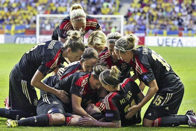 Finale: Deutschlands Fußballfrauen lösen Begeisterung aus