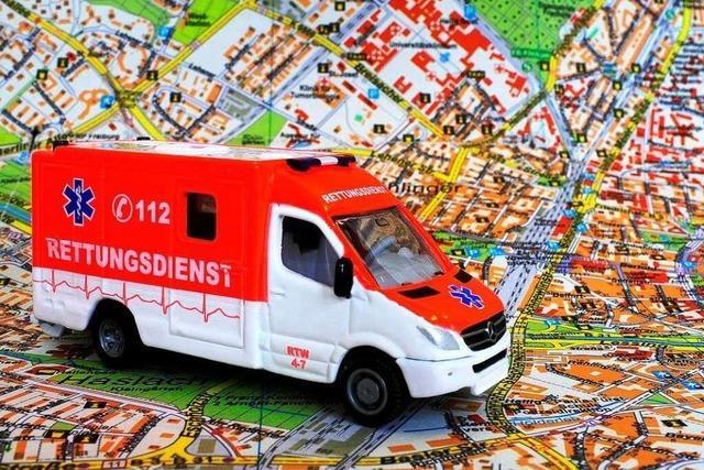 Auch die Rettungsdienste bereiten sich auf drohenden Stau vor