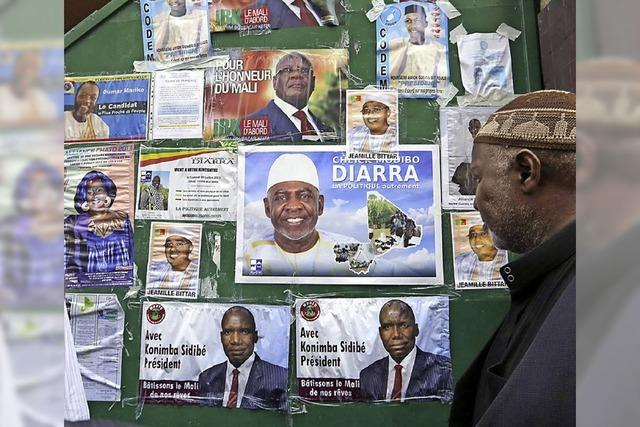 Heikle Lage vor Präsidentenwahl in Mali