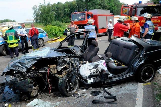 Schwerer Unfall bei Altenheim – L 98 teilweise gesperrt