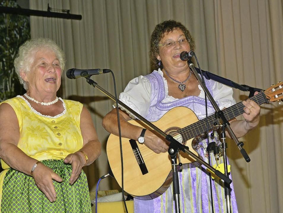 Sie leben Volksmusik bis in die kleins...rhaus zum Auftakt der BZ-Ferienaktion.  | Foto: Dieter Erggelet