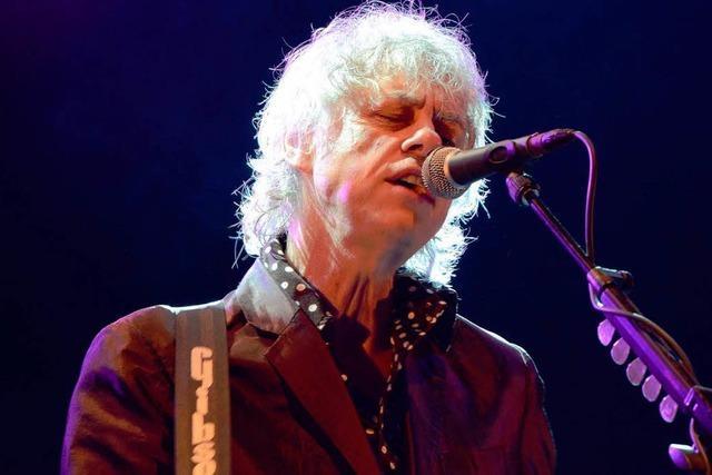 Wie war's bei ... Bob Geldof in Lörrach?