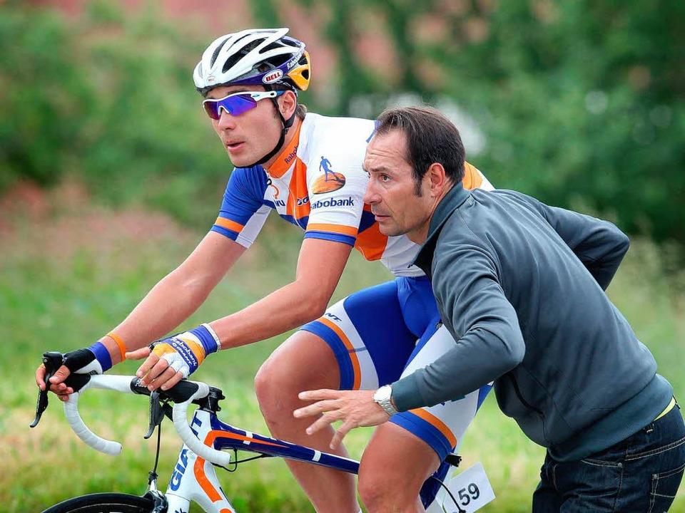 Erik Zabels Sohn Rick hat gerade seine...ofivertrag im Radsport unterschrieben.    Foto: dpa