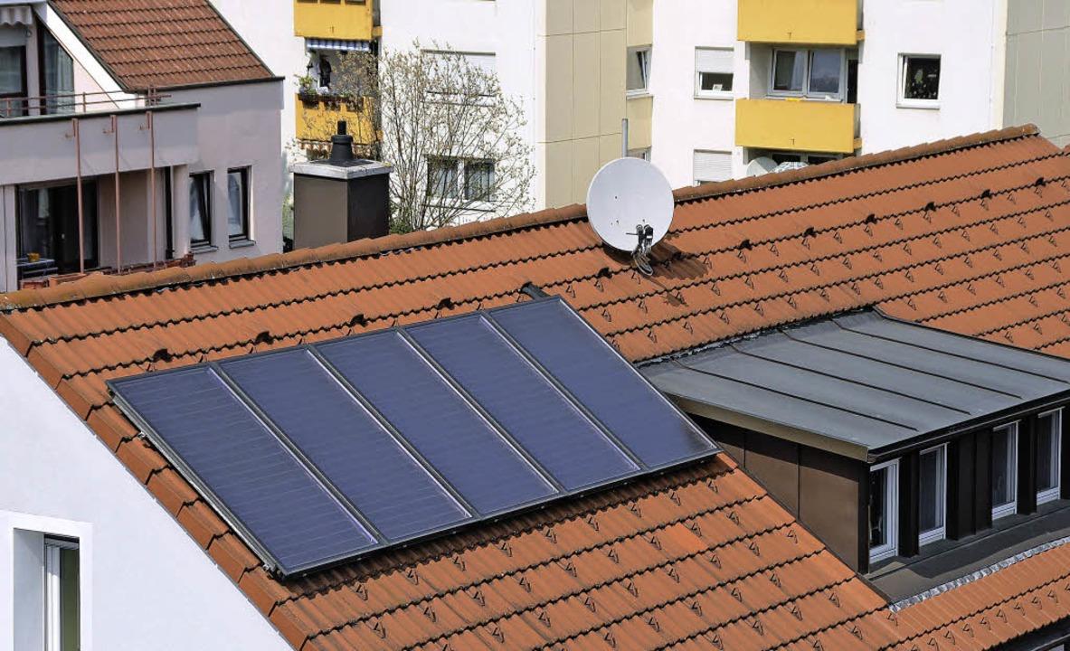 Die Solarstromproduktion wächst, aber ...hern ist Platz für noch mehr Anlagen.   | Foto: Ingrid Böhm-Jacob