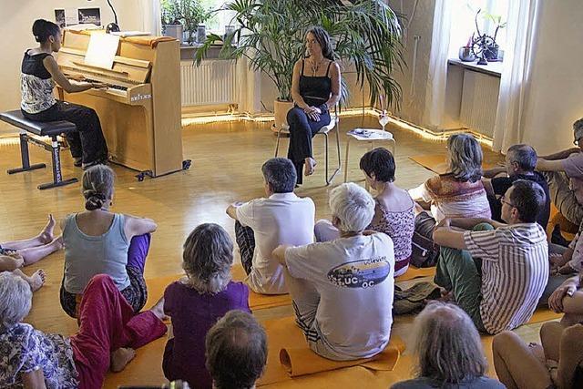 Yoga und Kunst hautnah