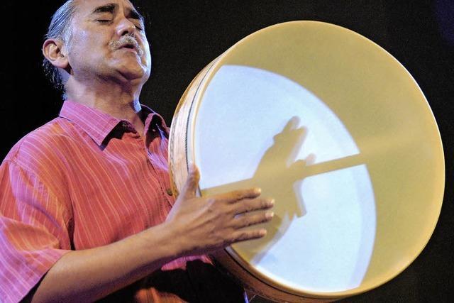 Glen Velez beim Freiburger Festival Tamburi Mundi