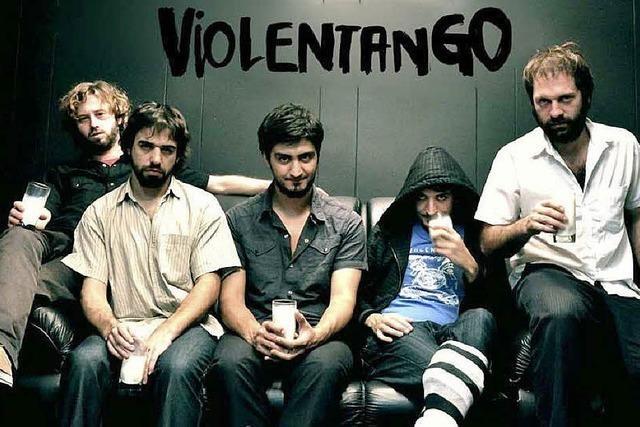 Violentango im Slow Club: Fünf Argentinier, ein Freiburger