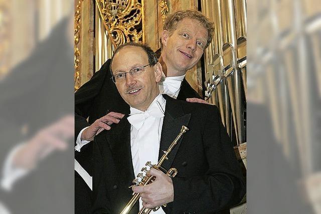 Trompete & Orgel: Bernhard Kratzer und Paul Theis