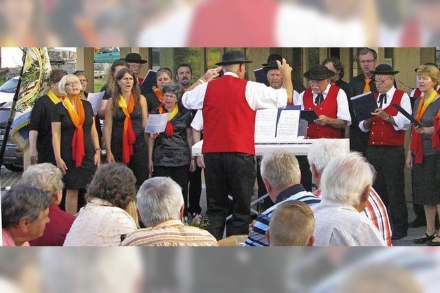 Jubiläumschor ehrt den großen Maler