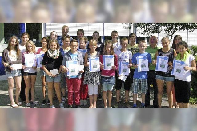 Schüler engagieren sich für die Umwelt
