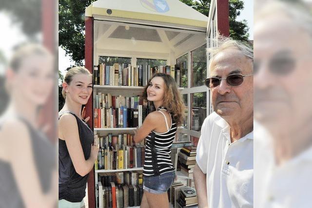Keine Abladestelle für alte Bücher