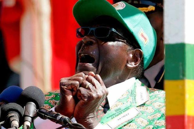 Präsidentenwahl: Der 89-jährige Mugabe tritt erneut an