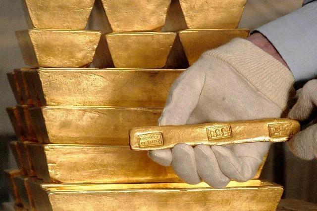 Gold macht die Schweizer Zentralbank ärmer