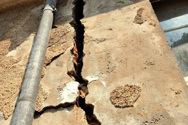 Rissekatastrophe in Staufen: Das erste Gebäude muss abgerissen werden