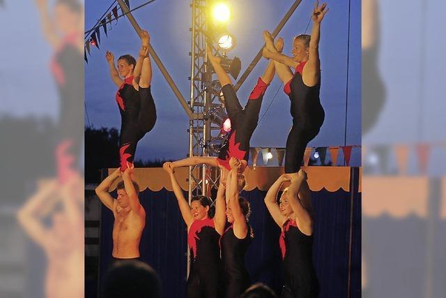 Zauberhafte Zirkuswelt
