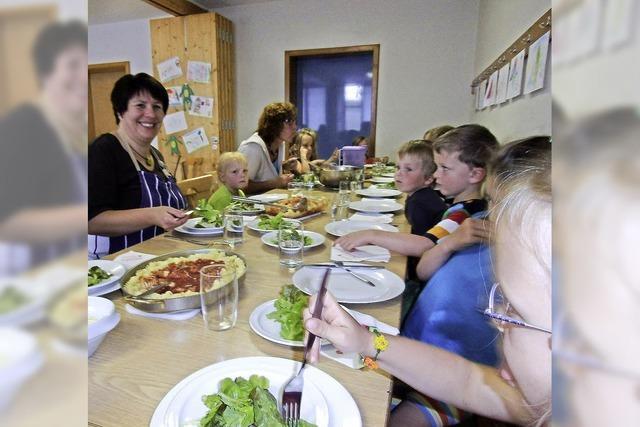 In Gemeinschaft schmecken auch Salat und Brokkoli