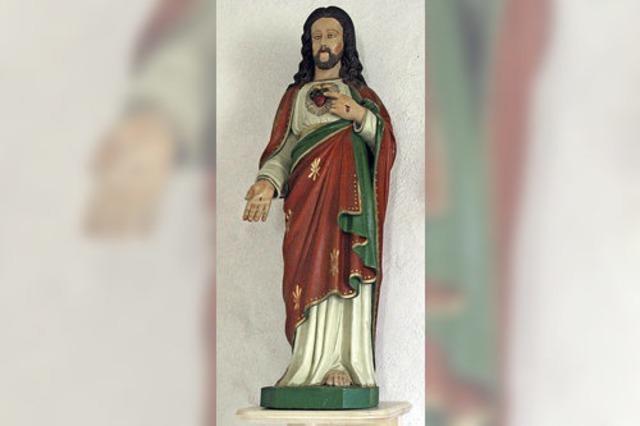 Eine Herz-Jesu-Statue für die Schwendekapelle