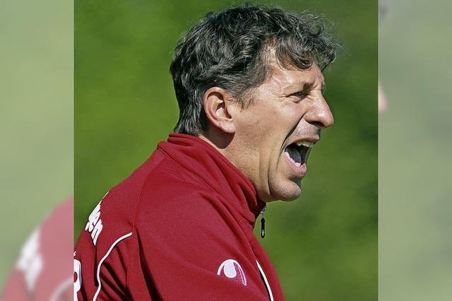 Villingens Trainer Martin Braun:
