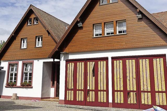 Kein Fassadenrückbau am Feuerwehrhaus Griesheim