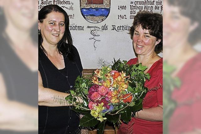 Silke Herzog als Ortsvorsteherin vereidigt