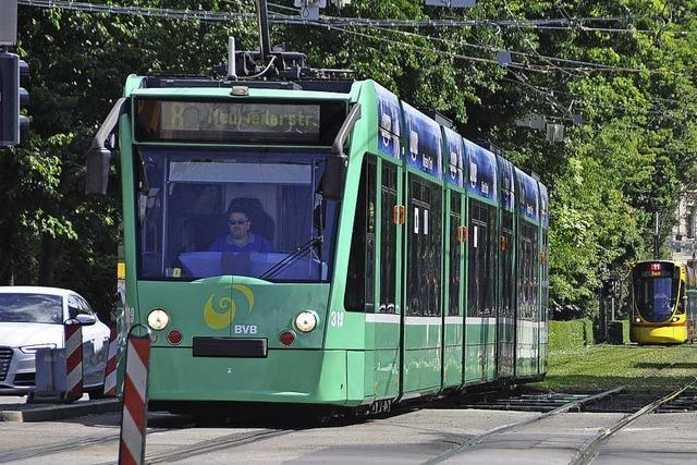 Trams fahren wieder nach Plan