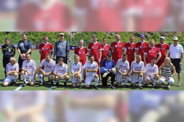 Bernhard Seger trainiert die GVV-Mannschaft