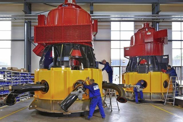 Doppelrekord beim Bau von Turbinen
