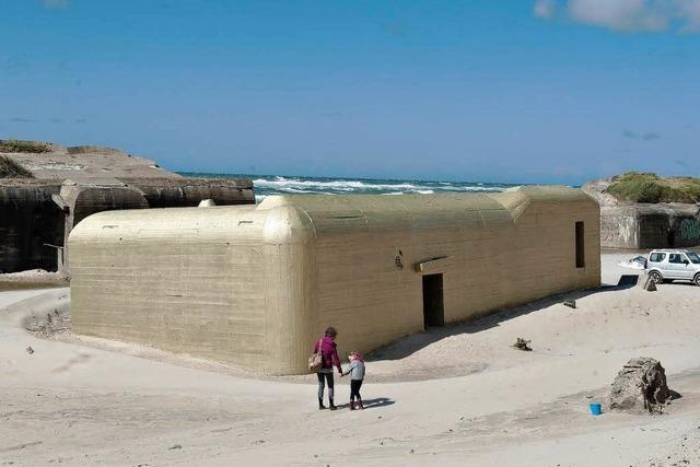 Dänen reißen Hitlers Bunker an der Küste ab