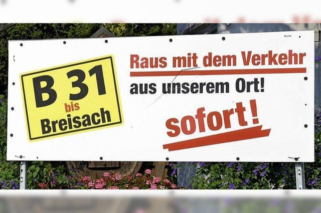 Rapp klagt über B 31-Blockade