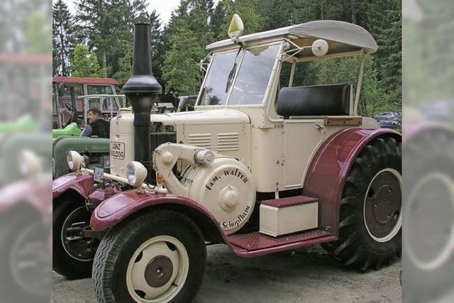 Vielfalt der Traktormodelle