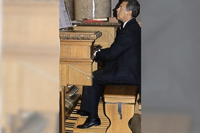 Organist der Papstmessen zu Gast