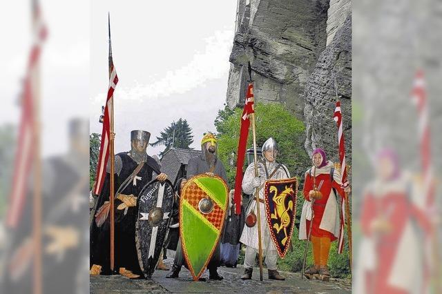 Die Kreuzritter kehren auf die Lenzburg zurück