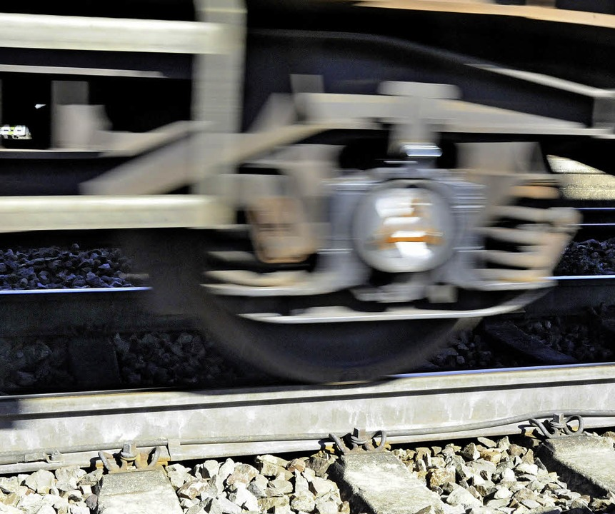 Hauptverursacher von Lärm durch den Ei...nbetrieb sind die Räder von Güterzügen  | Foto: Markus Zimmermann
