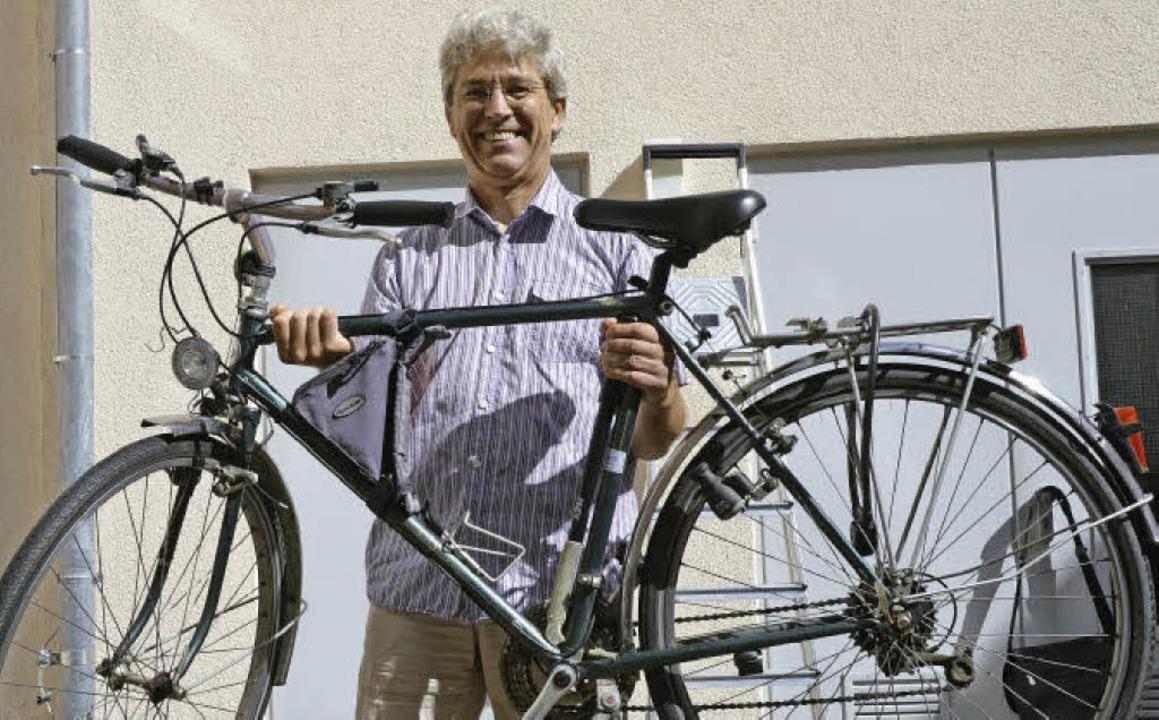 Der Emmendinger Karl Klein sucht gebra... einer Fahrradwerkstatt in Nicaragua.   | Foto: Gerhard Walser