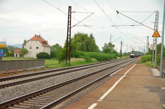 Buggingen will eine bessere Zuganbindung