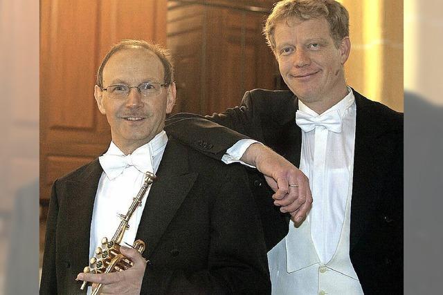 Kratzer und Theis spielen in der Wallfahrtskirche in Todtmoos