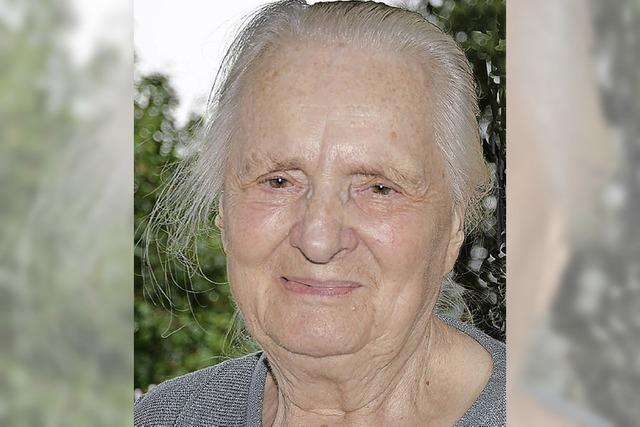 Selbstversorger mit 90 Jahren