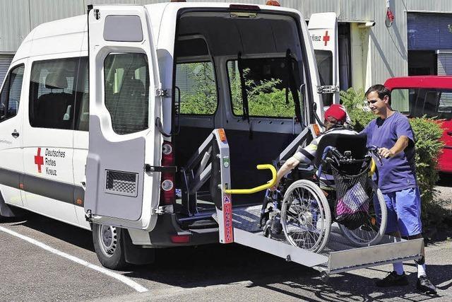 Defizit bei Behindertentransporten
