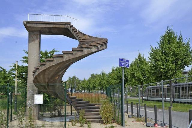 Die Treppe, die ins Nichts führt