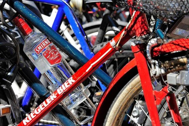 Freiburg: Ab 1,6 Promille droht das Fahrradverbot