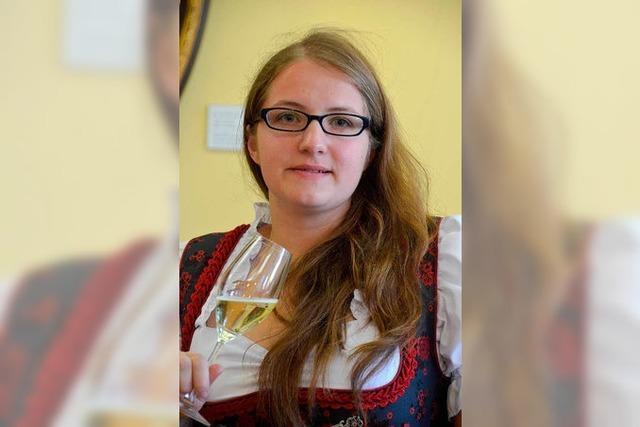 Larissa Brombacher ist neue Markgräfler Weinprinzessin