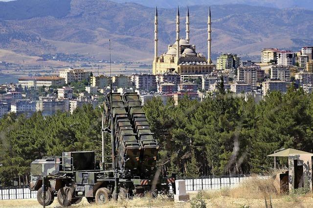 Deutsche Soldaten schützen Türkei vor Luftangriffen
