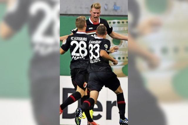 Augsburg als Erster weiter