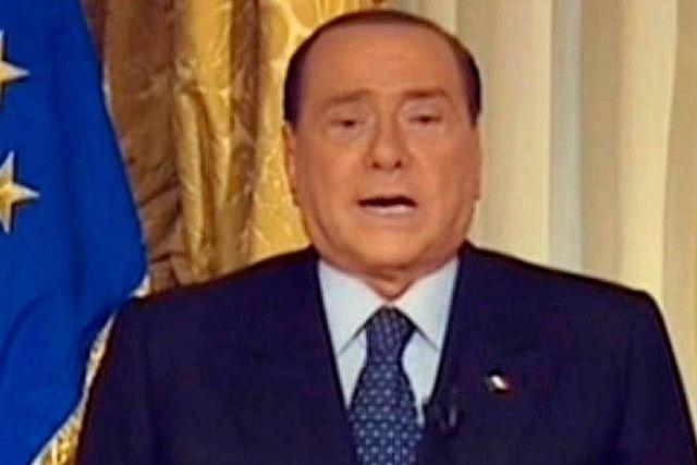 Berlusconi macht weiter – politische Zukunft unklar