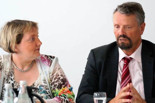 Katja Mast und Gernot Erler über den Wahlkampf