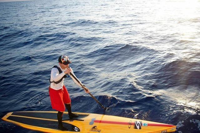 Stehpaddler schafft es von Kuba nach Florida