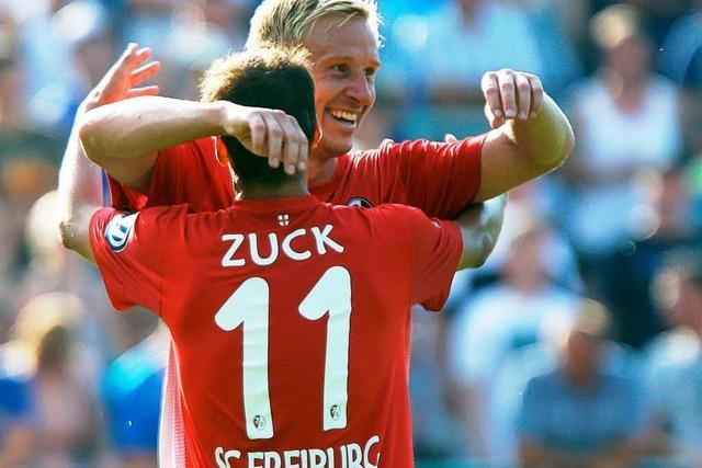 SC Freiburg entgeht Blamage – Zuck sei Dank