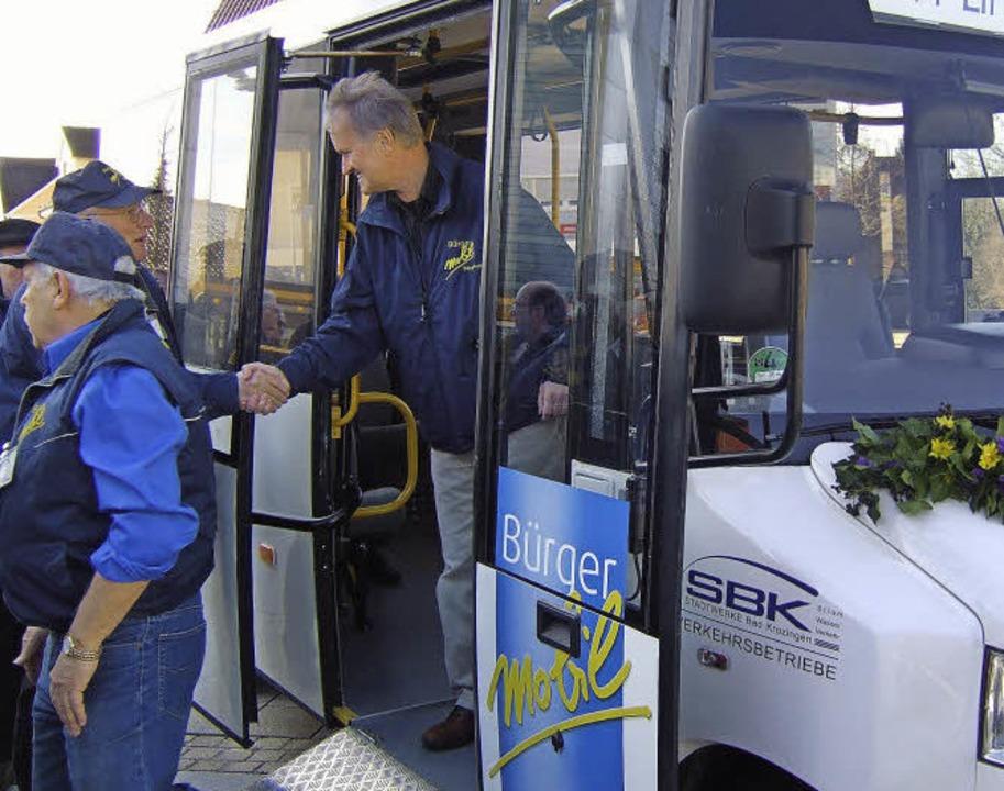 Der Bürgerbus in Bad Krozingen ist ein Erfolgsmodell.  | Foto: Susanne Müller