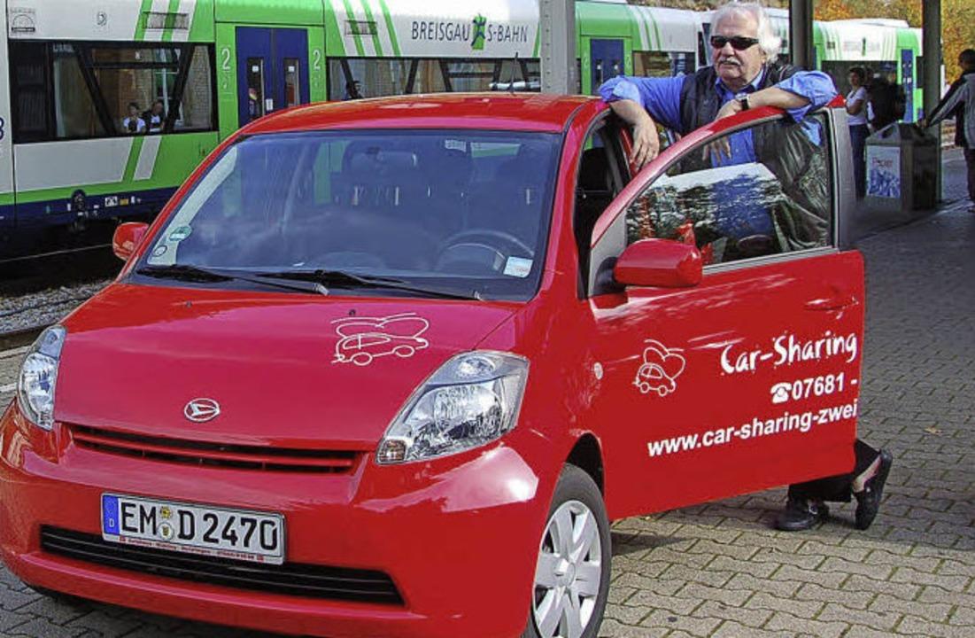 Carsharing ist auf dem Land eine gute Alternative zum Zweitwagen.  | Foto: Sylvia Timm
